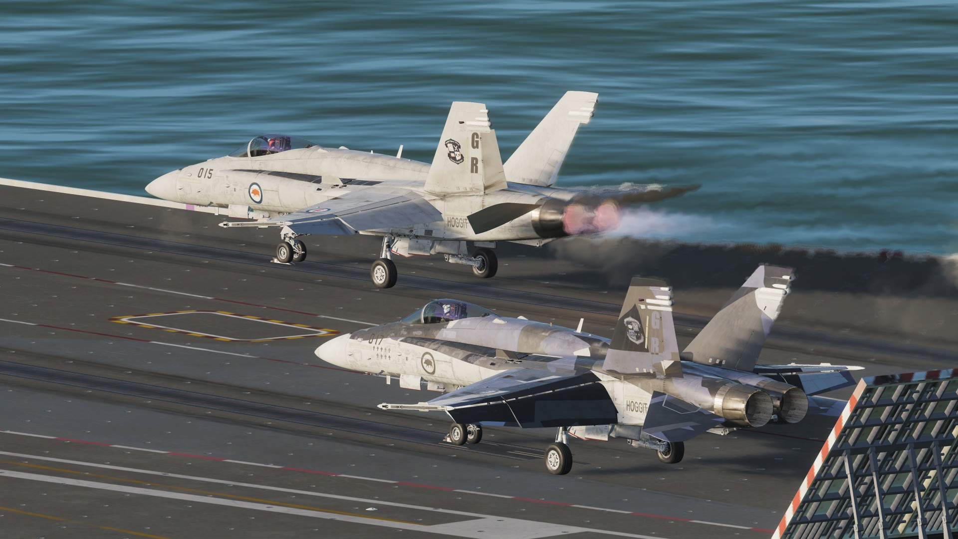 Hoggit Navy - Wasps (F/A-18C Hornet livery pack)