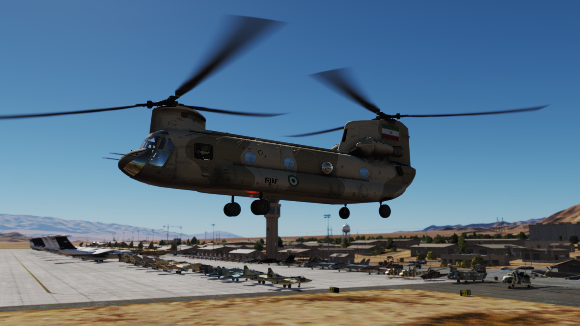 Iranian (IRIAF and IIAF) CH-47 Skin By GIZMO
