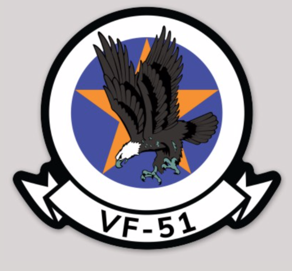 "VF-51 ""Screaming Eagles"" 80's Low-Vis"