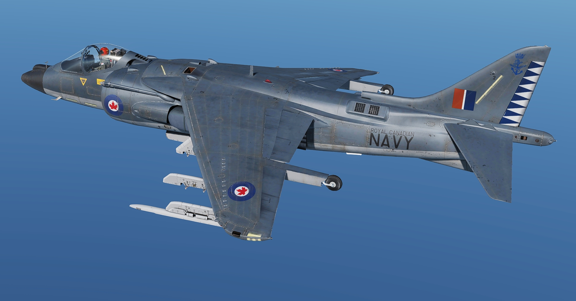 Royal Canadian Navy Harriers (Fictional)
