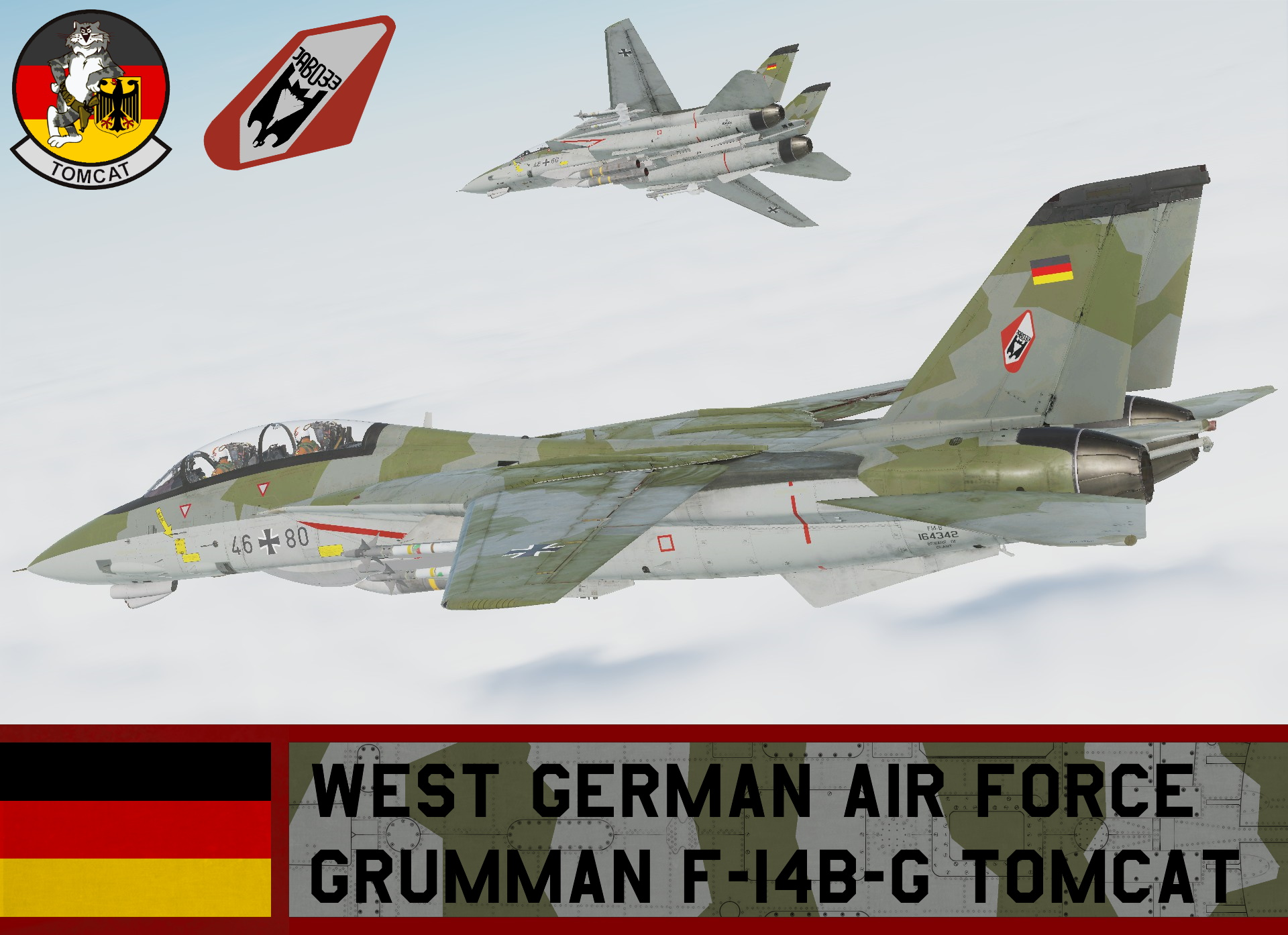West German Air Force F-14B-G Tomcat (Fictional)