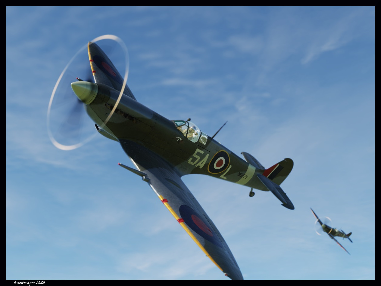 SPITFIRE LF IX Forces françaises libres -  FFL package 01 * Updated to ultimate spitIX skin package 09082020