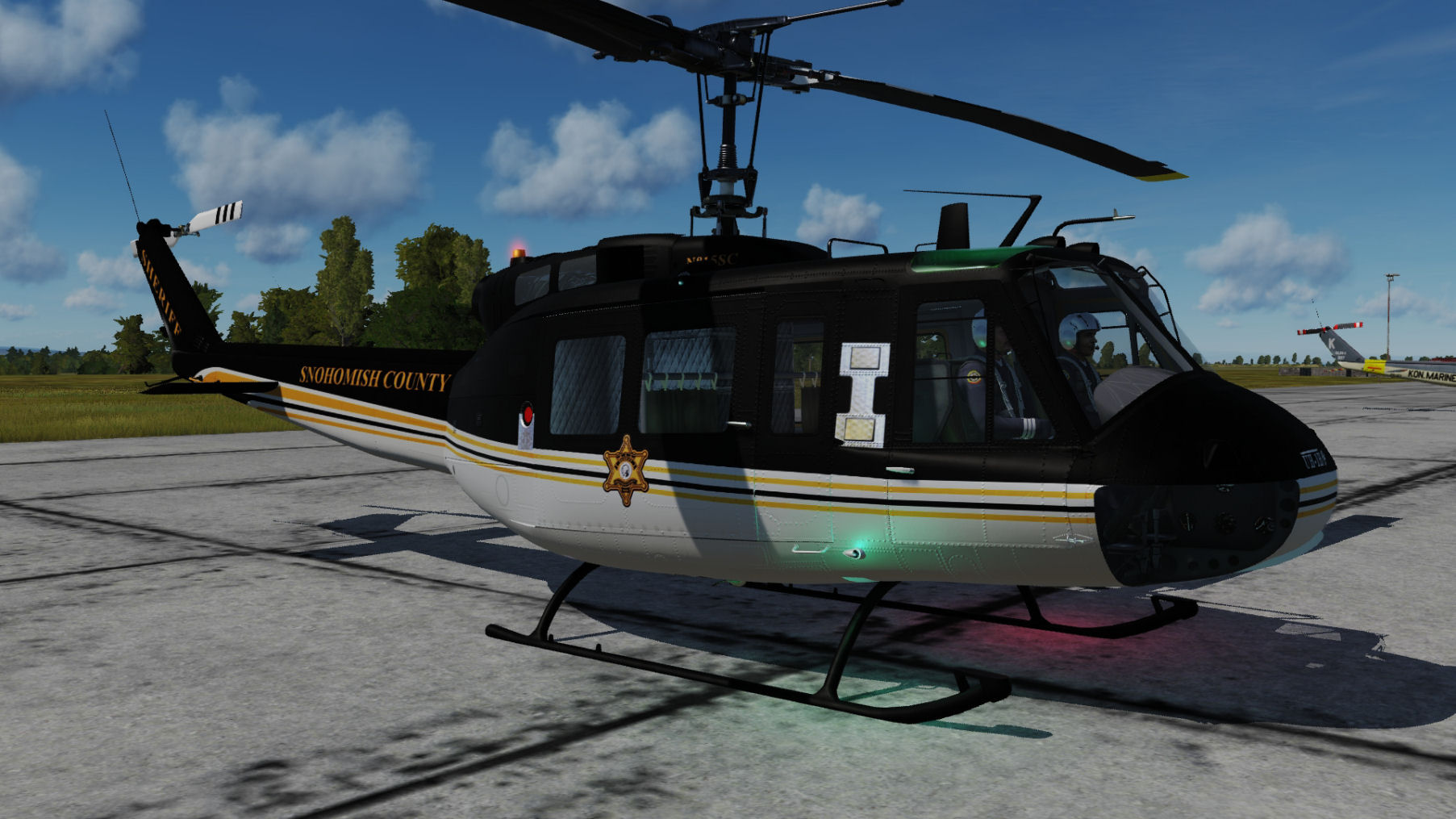 Snohomish County SAR UH-1H Plus-703 updated for DCS World 2.5.5
