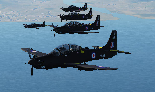 A-29B Tucano RAF Skins (Set of 5)