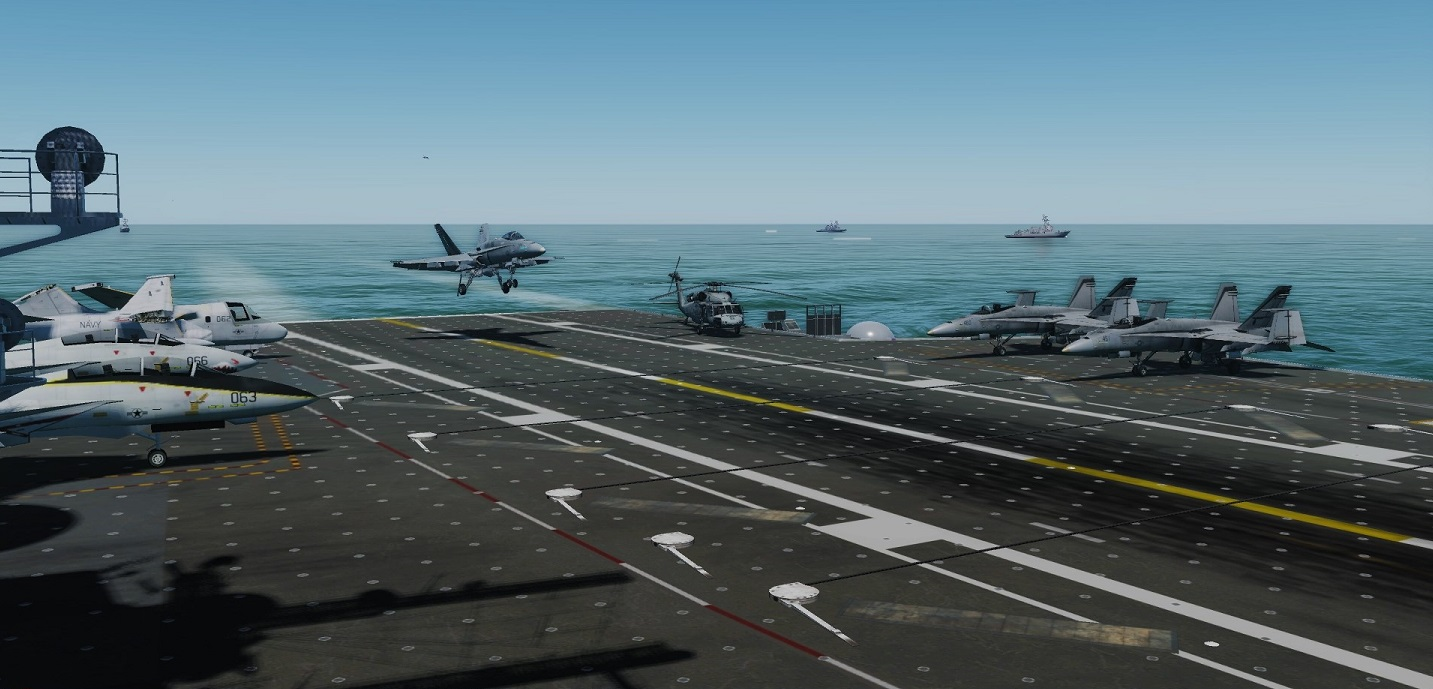 Carrier Operations F/A-18C