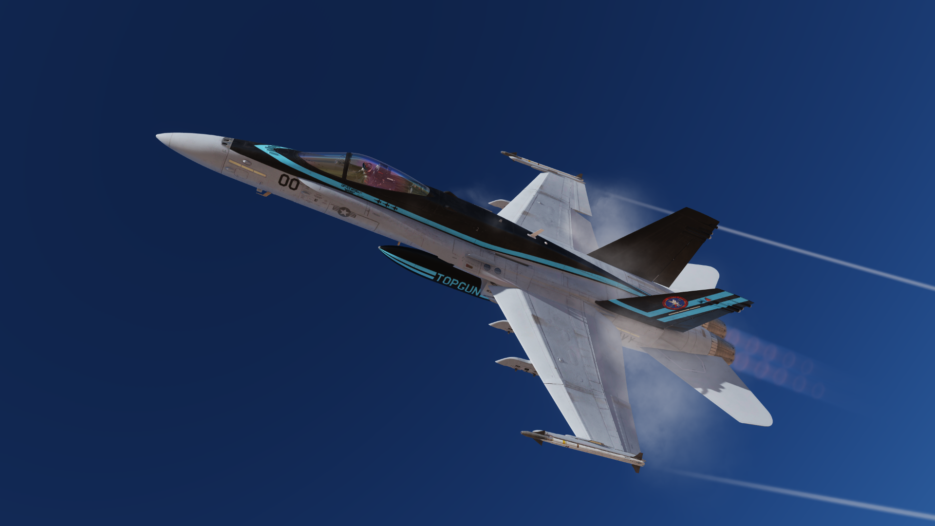 "F/A-18C ""TOP GUN 2"" movie Skin 1.3"