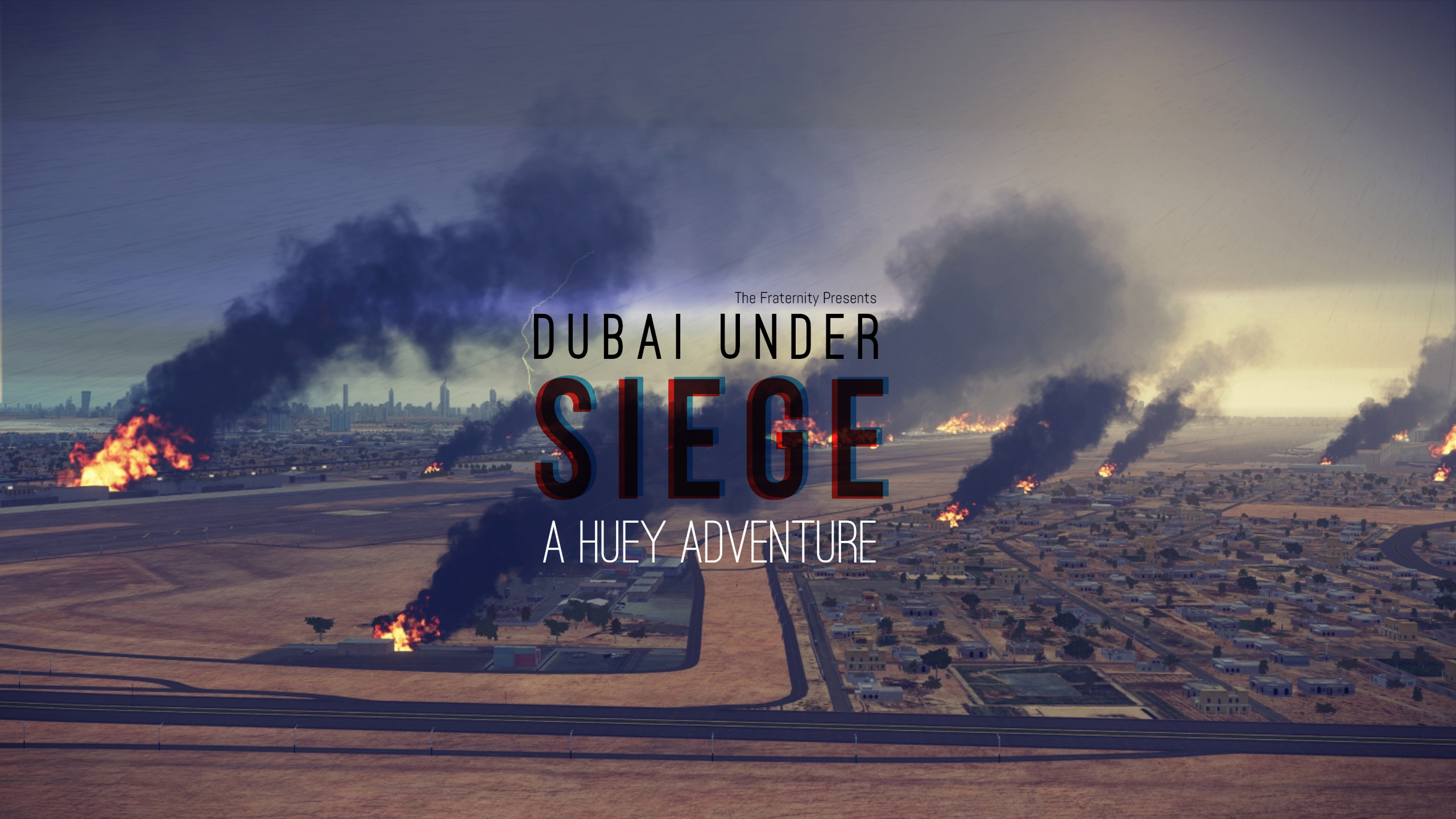 Dubai Under Siege - OPERATION : AL MAKTOUM BRIDGE UH-1 Huey