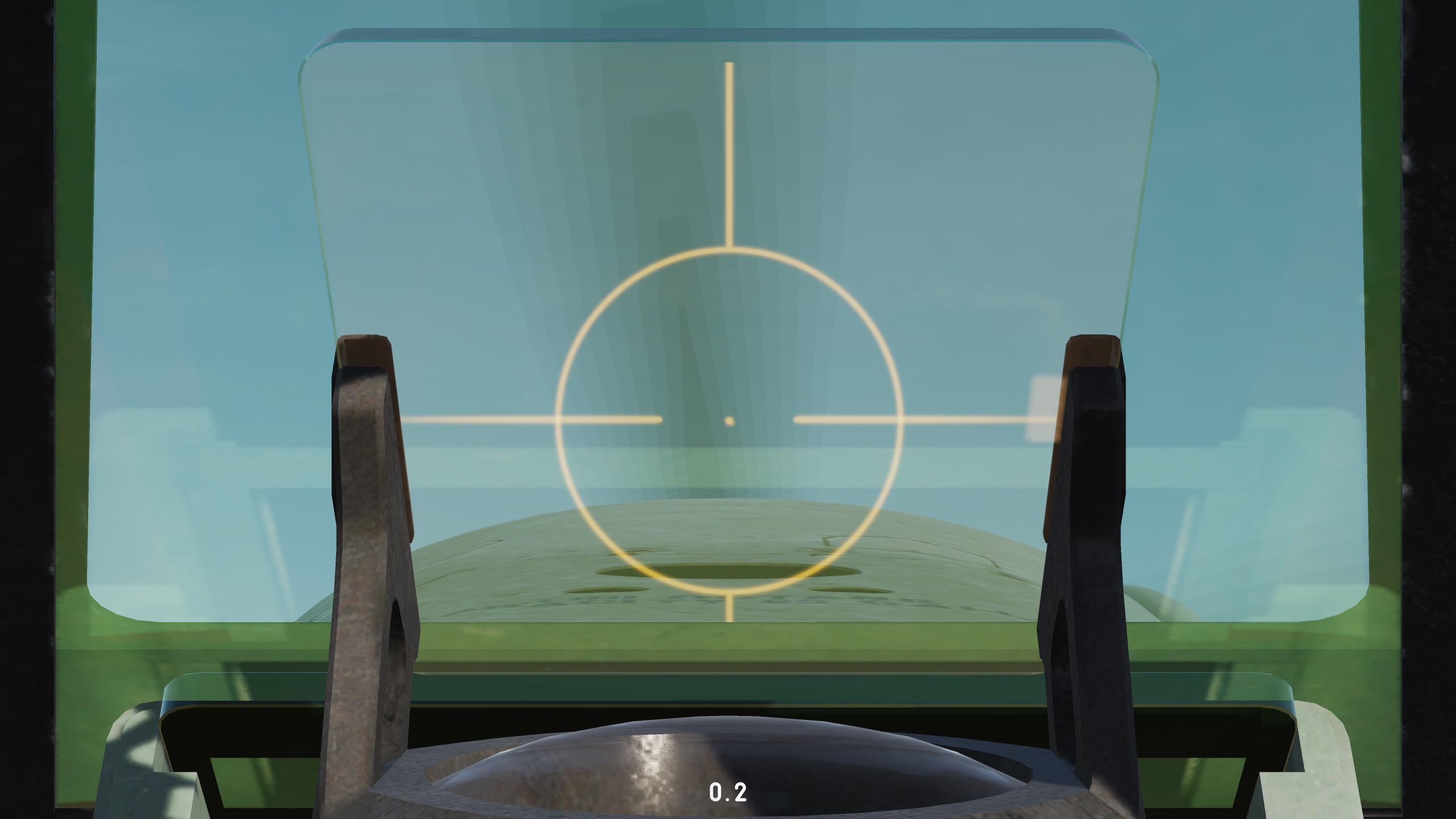 Spitfire Gunsight Reticle v0.2