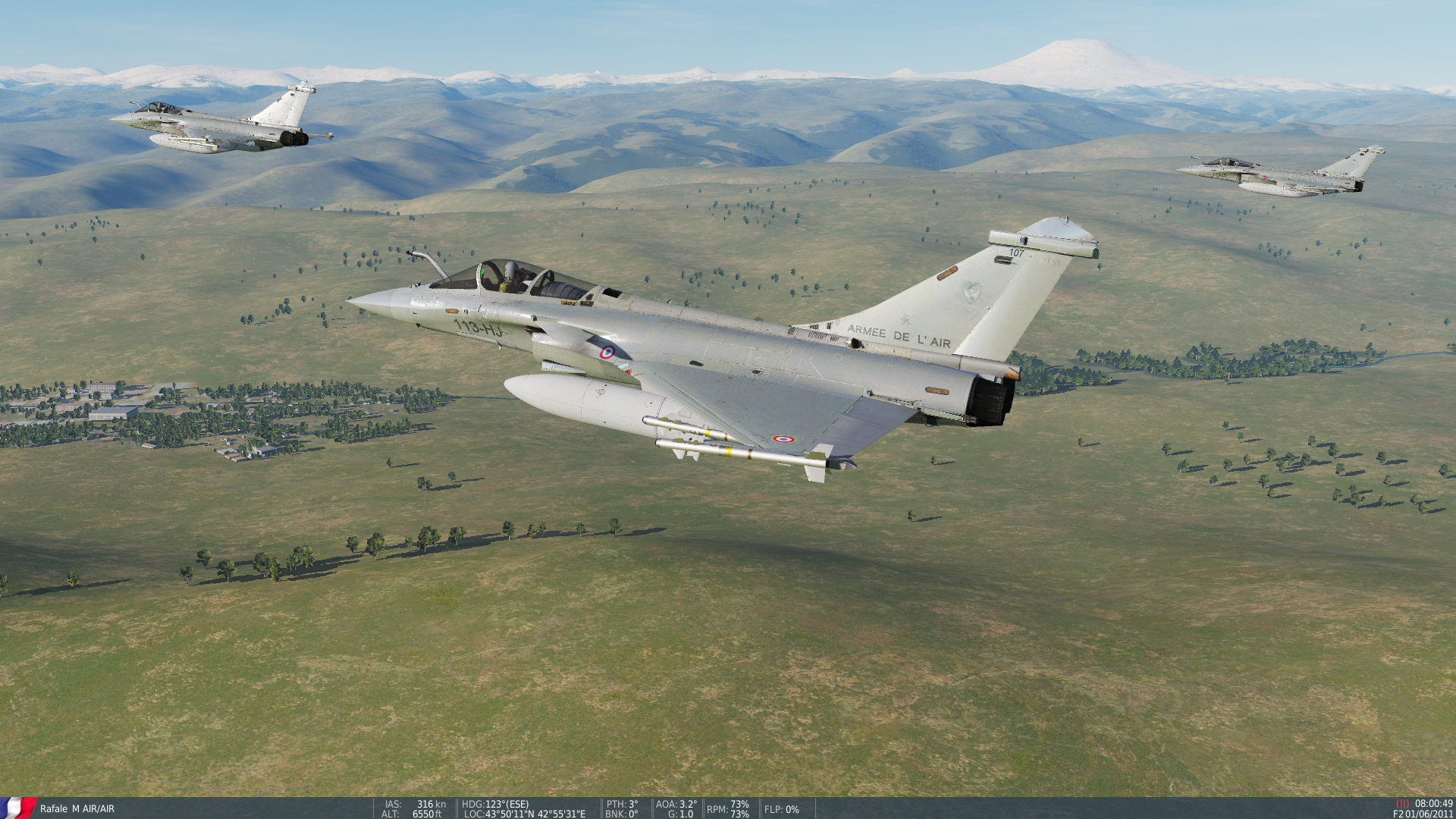 Armee de l'Air skins for DCS MOD RAFALES 2.5.5 BETA
