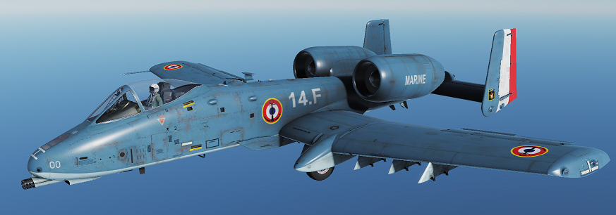 A-10C Fictional french marine