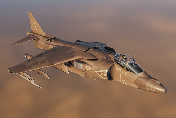 Desert Harrier - By Cutlass72