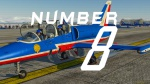 "L-39 ""Patrouille de France"" Number 08"