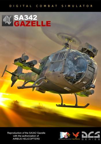 DCS: SA342 Gazelle от Polychop Simulations