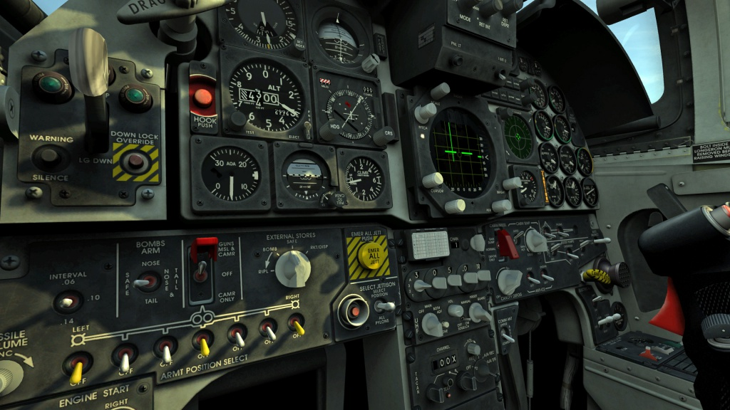 F-5E - Louder cockpit Switches Mod  & louder guns in cockpit v1.2 - NEW INSTALATION 2.5.6.45317 or later