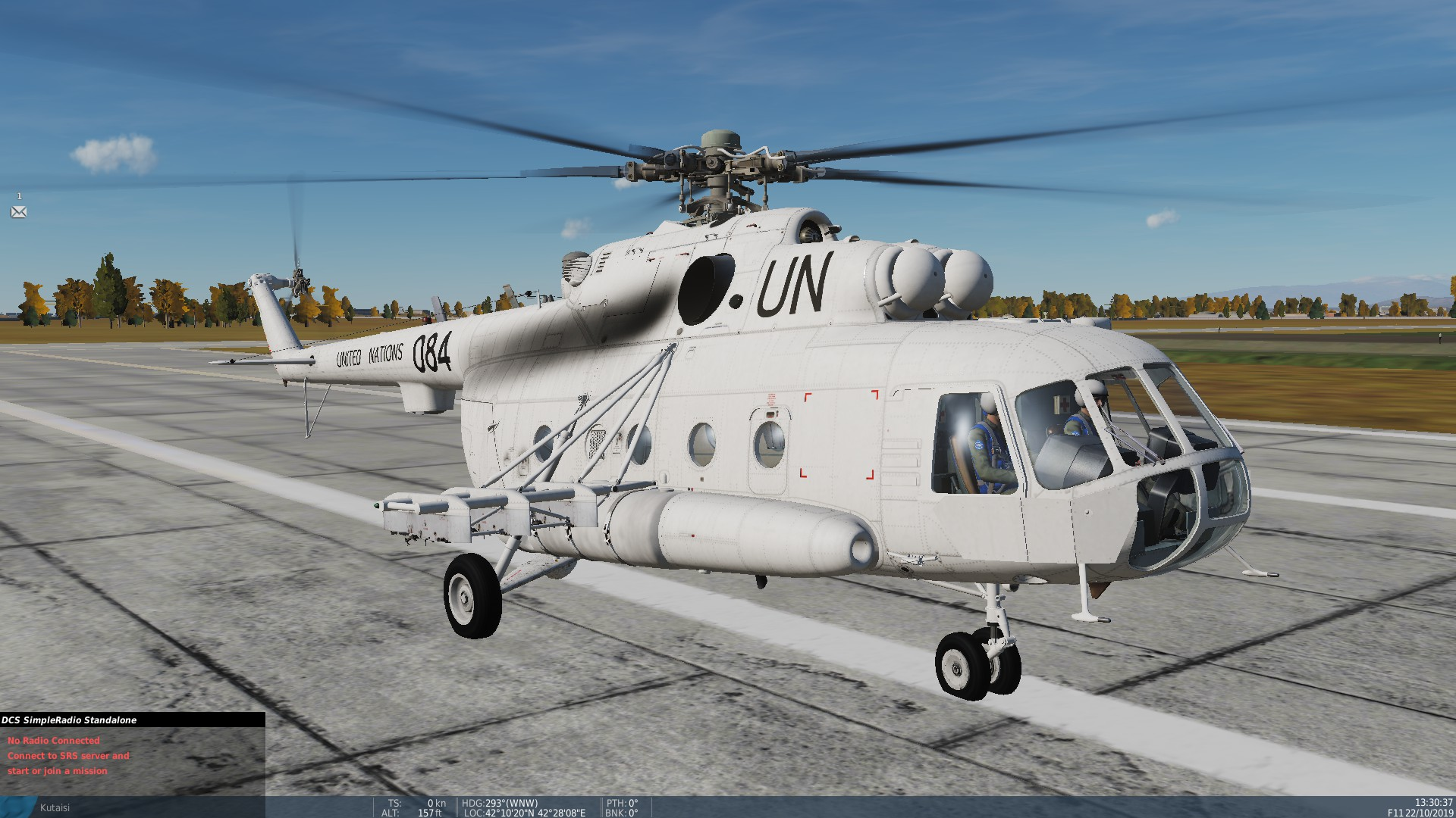 United Nations Mi-8 skin