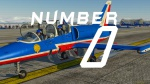 "L-39 ""Patrouille de France"" Number 00"