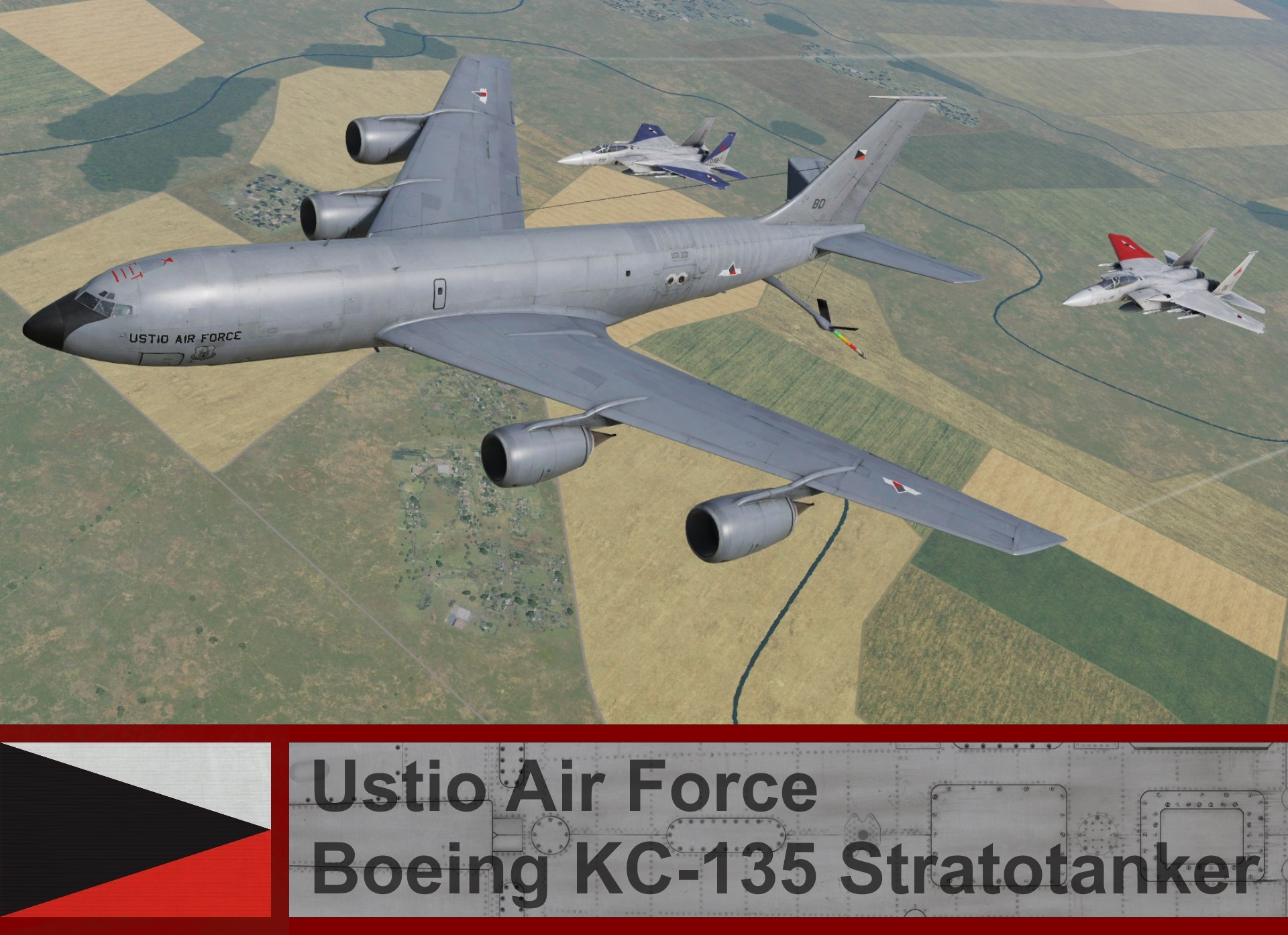 Ustio Air Force Boeing KC-135 Stratotanker  - Ace Combat Zero