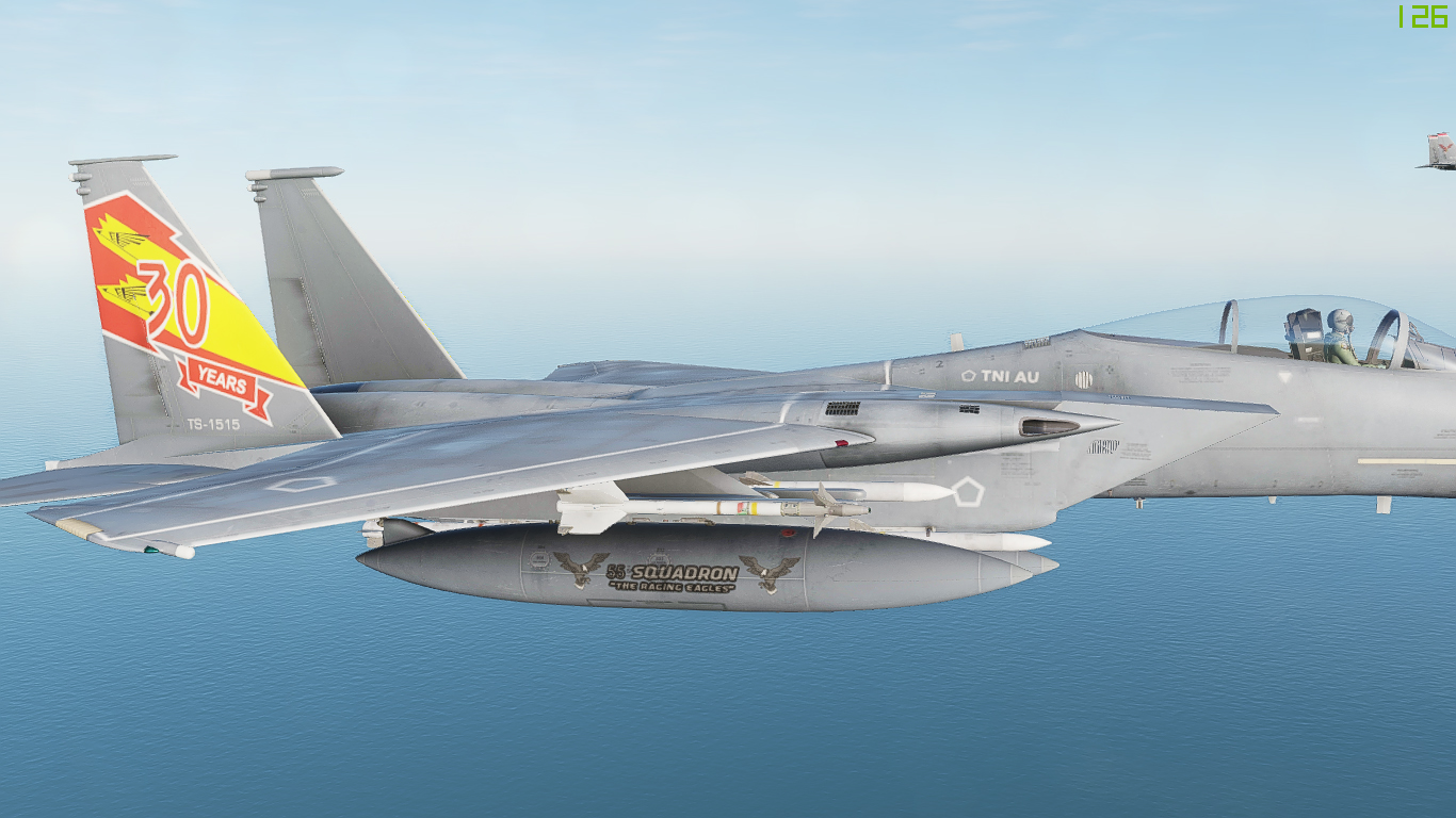 F-15C Indonesia Air Force (TNI-AU) Fictional Pack