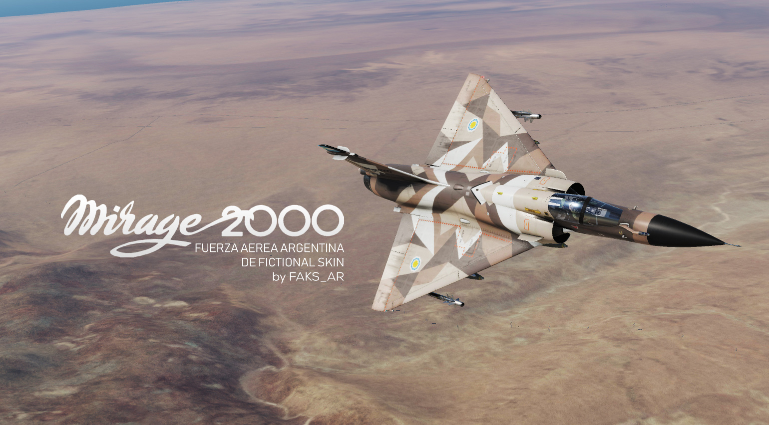 Argentine Mirage 2000C DE Fictional