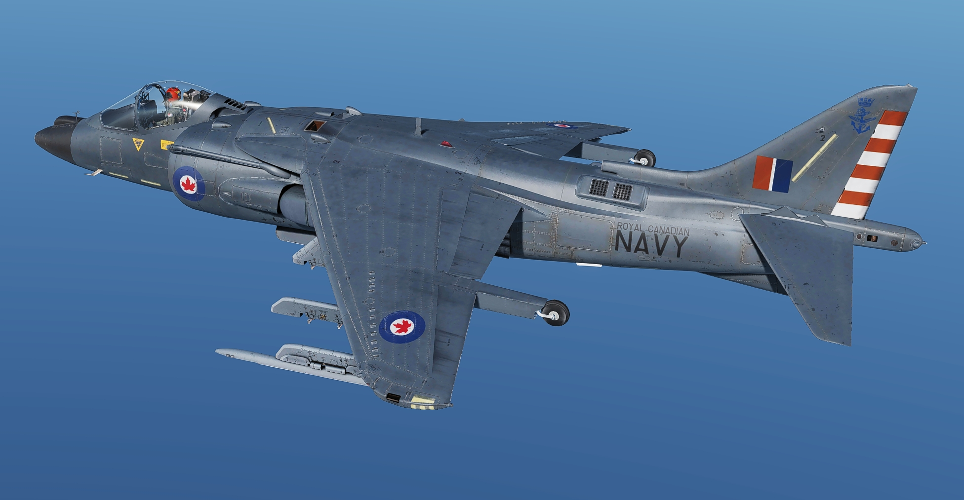 Royal Canadian Navy Harriers #2 (Fictional)