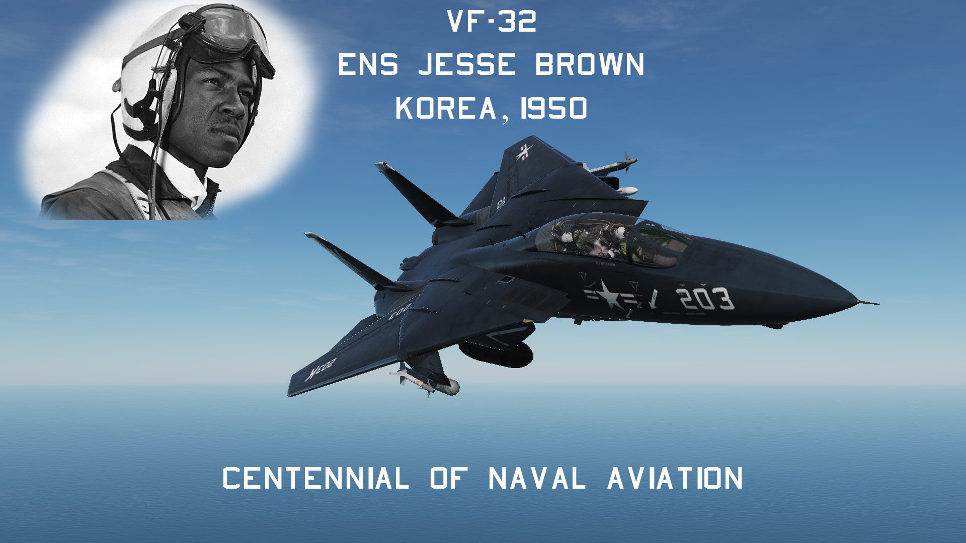 VF-32 CoNA - 203K of ENS Jesse Brown (Semi-Fictional)