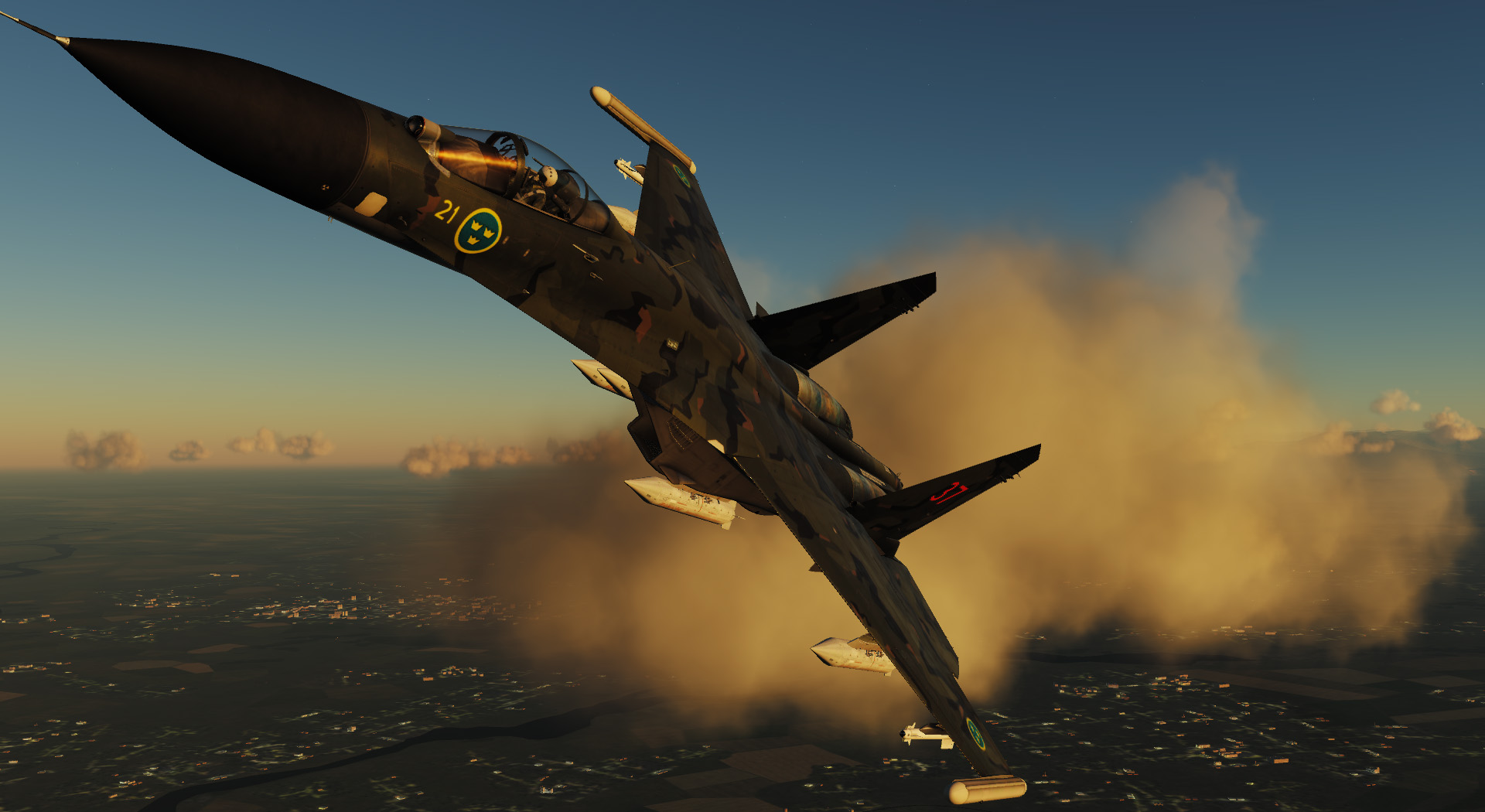 Su-27: Swedish AF (Fictional)