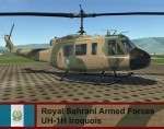 Royal Sahrani Armed Forces UH-1H pack - ArmA I