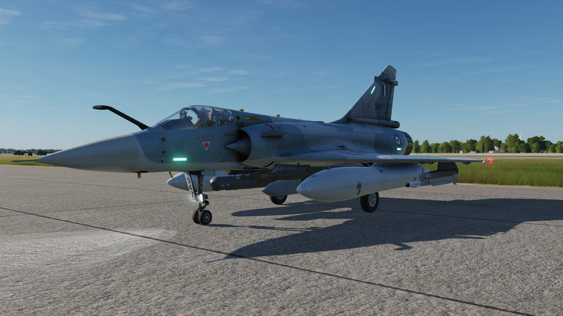 Hellenic Air Force liveries for Mirage 2000C (2000-5Mk2 like)