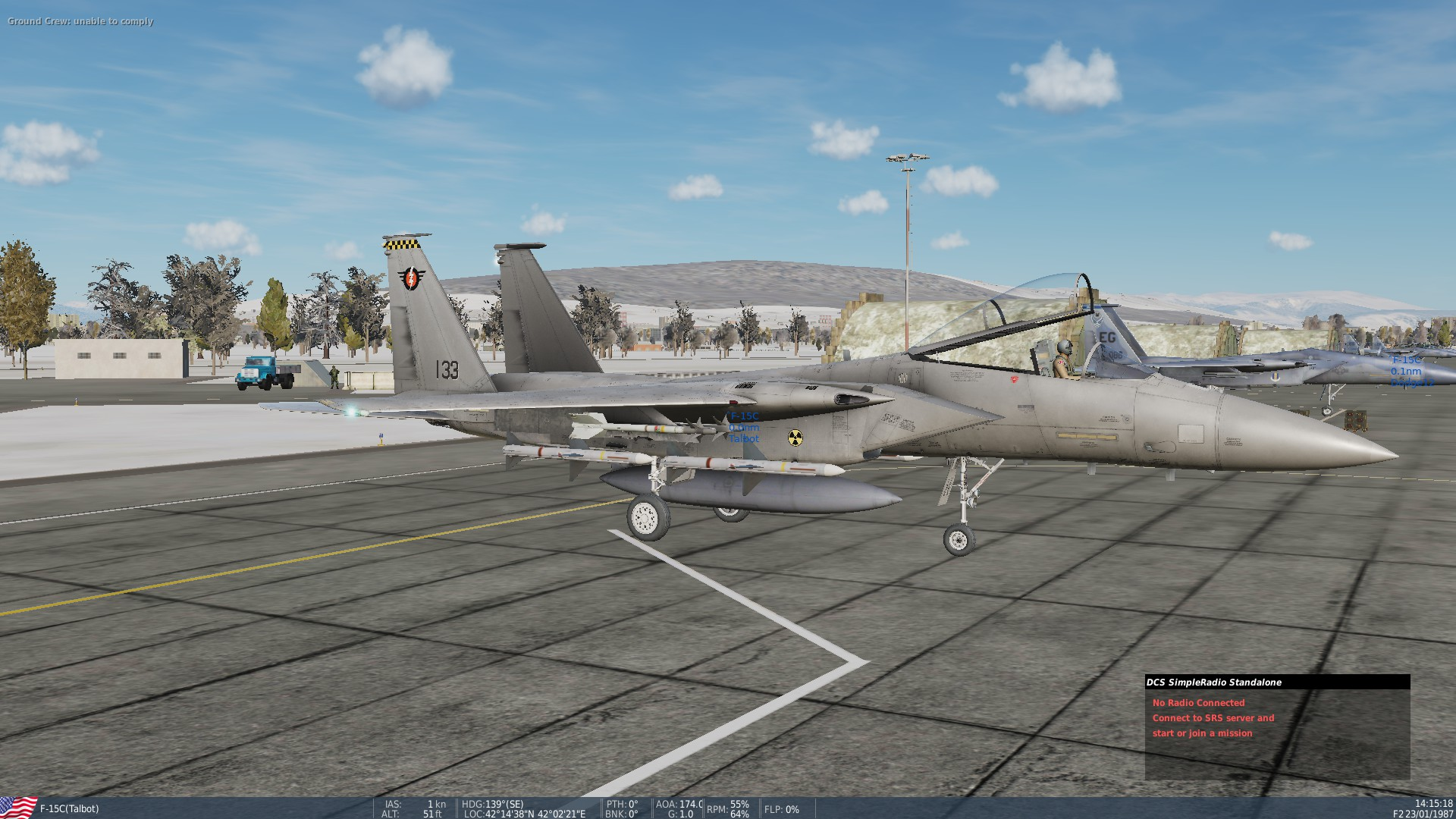Fallout Inspired Skins For F-15c (Enclave & Minutemen) PART 1