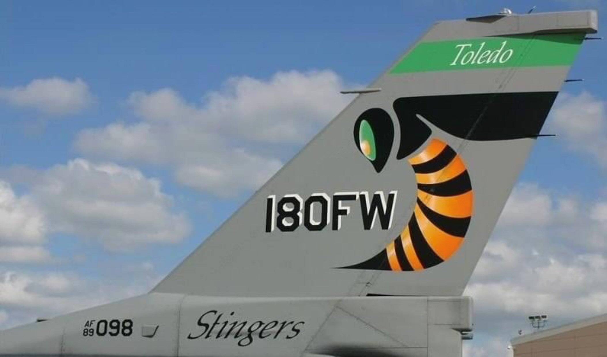 "180th Fighter Wing ""Stingers"" Toledo Ohio"