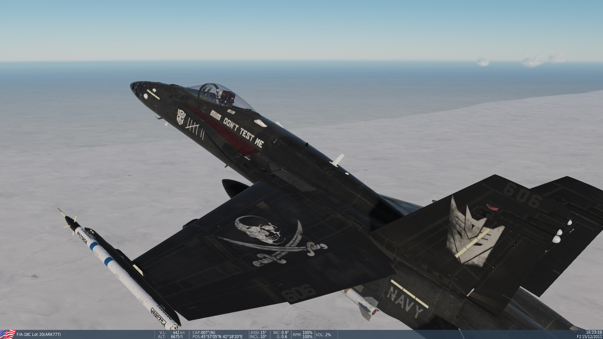 "F/A-18 C , ""Decepticon 08-RED"" [ FILES CORRECTED ! ]"
