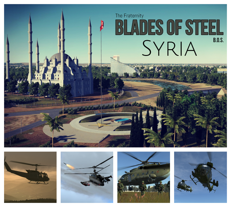 Blades of Steel - Syria [Helicopter Sandbox] - All Helo Modules (Single or Multiplayer) by Element