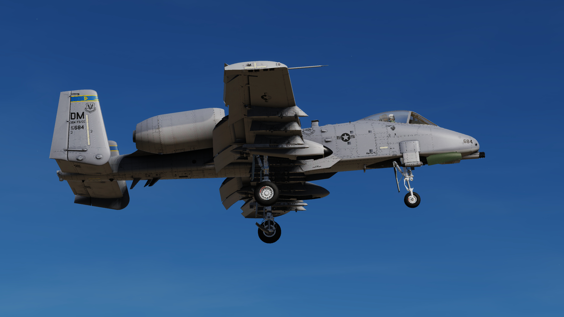 A-10C 354th Fighter Squadron Pack