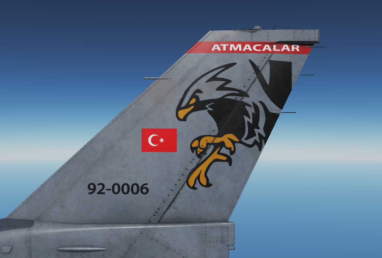 Turkish Air Force - Atmacalar 182. Filo - Livery - V 1.7 - by AngrybirdTR