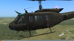 UH-1H Belgian Air Force Green + crew skin