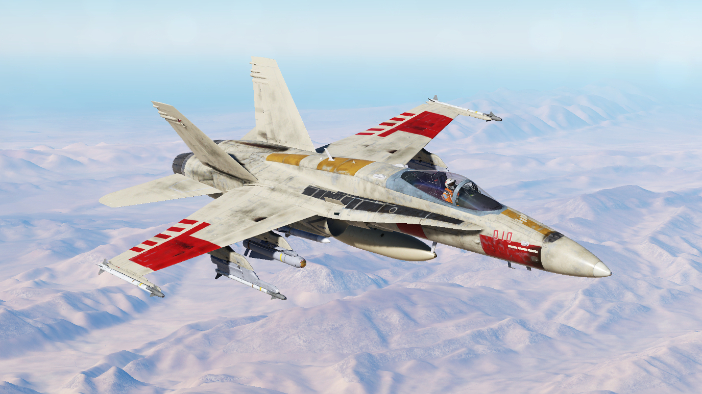 F/A-18C Fictional Livery - Red 5 - Luke Skywalker