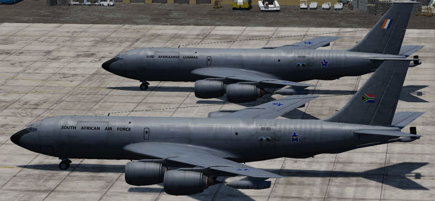 SAAF KC-135 Strato Tankers