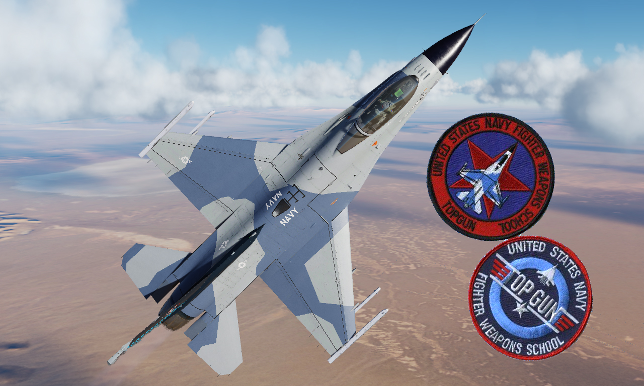 United States Navy Fighter Weapons School ''Viper'' (Fictional Livery)