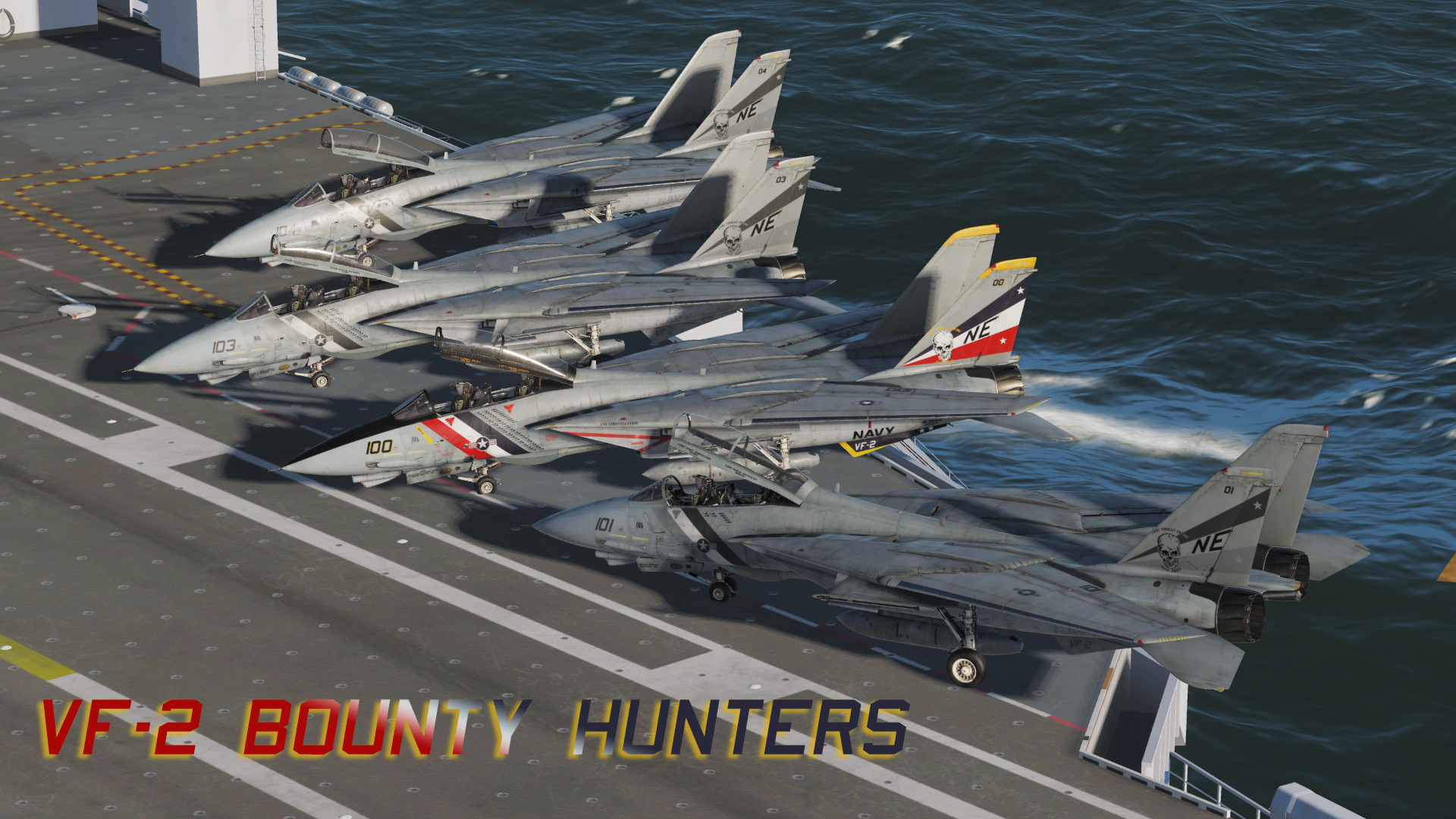 F-14B - VF-2 Bounty Hunters V2.0