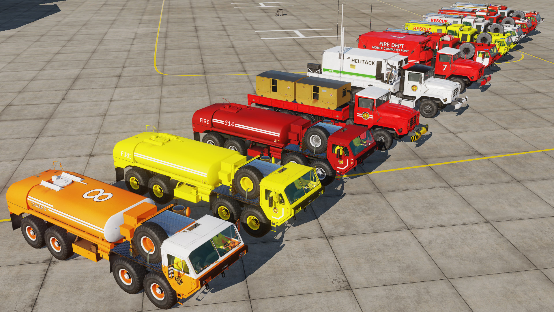 Fire Department Livery Pack