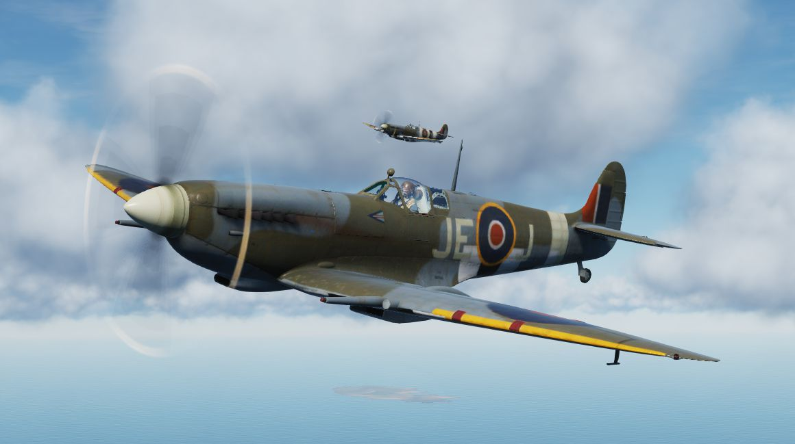 Johnnie Johnson's june 1944 Spitfire.
