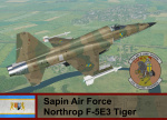 Sapin Air Force F-5 Tiger - Ace Combat Zero (27 FS)