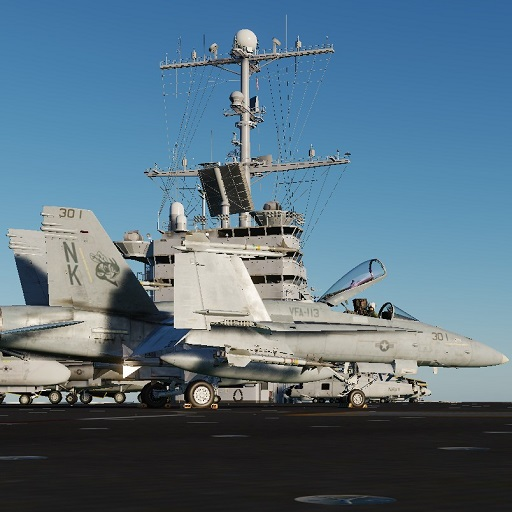 F/A-18C - Realistic Carrier Cold Start Training