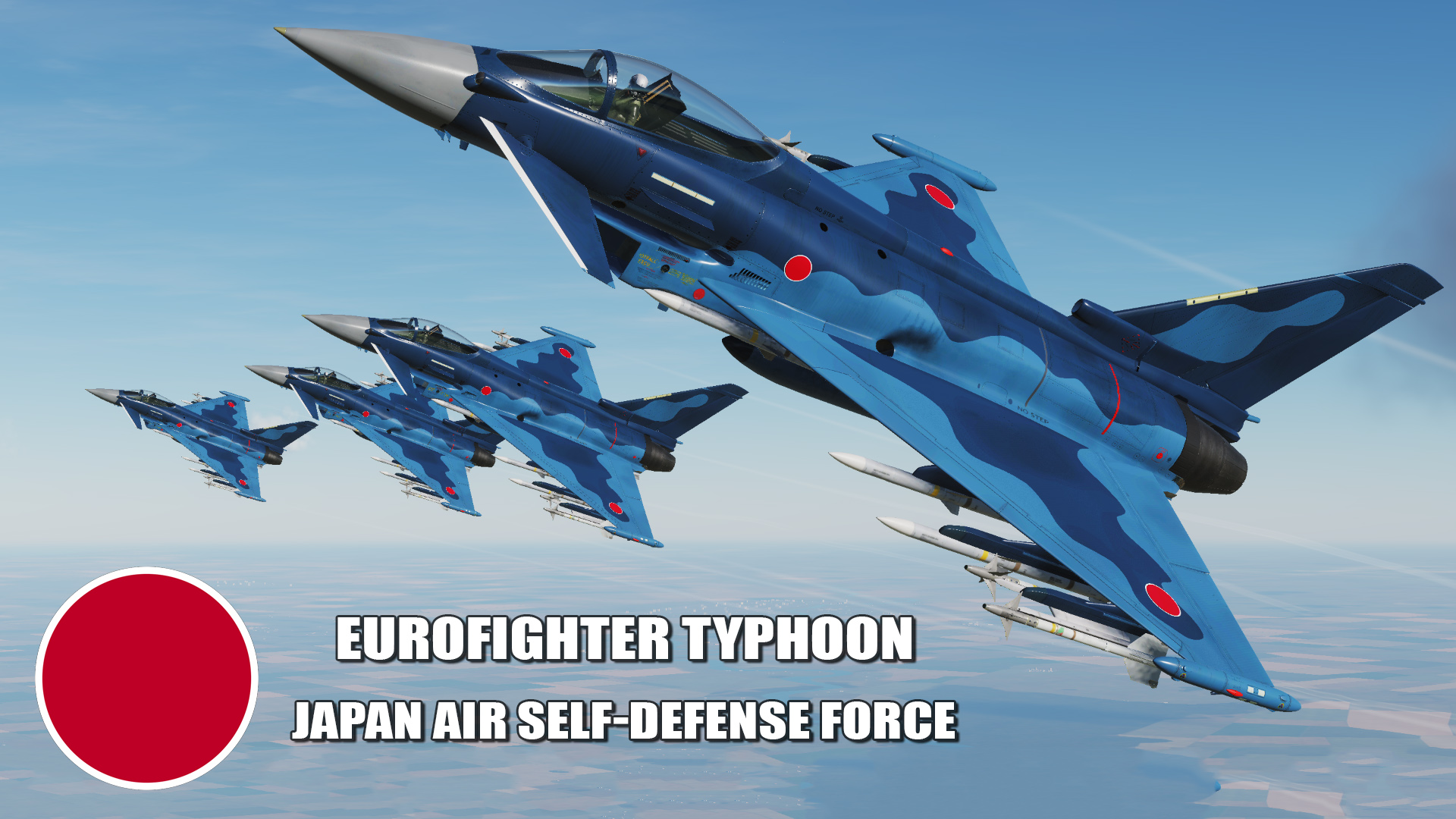Japan Air Self-Defense Force Eurofighter Typhoon