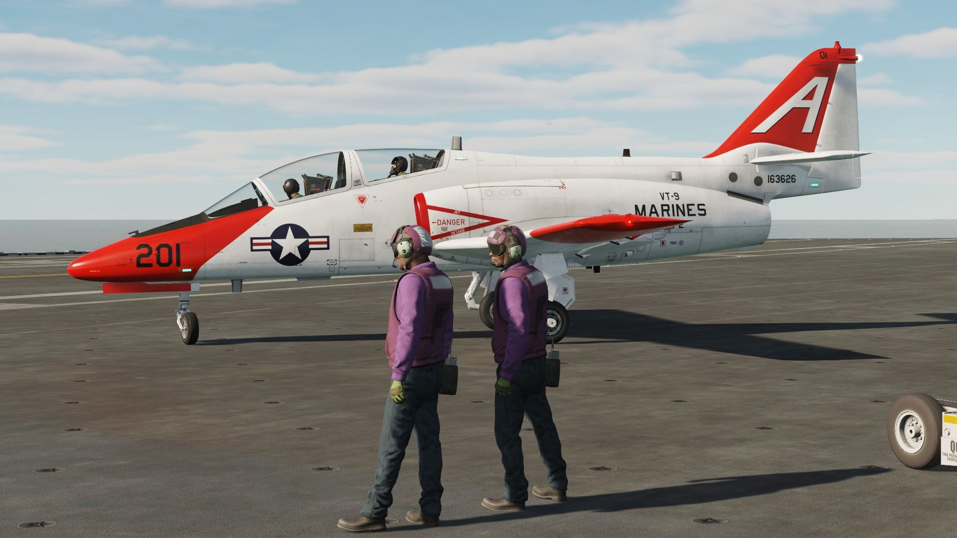 Fictional C-101 USMC Trainer Livery
