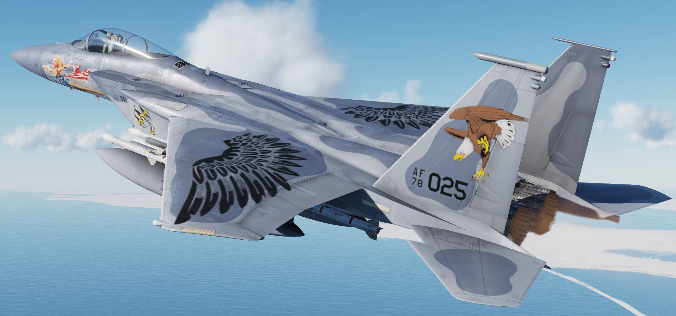 F-15C 104-0 All Hail To The King