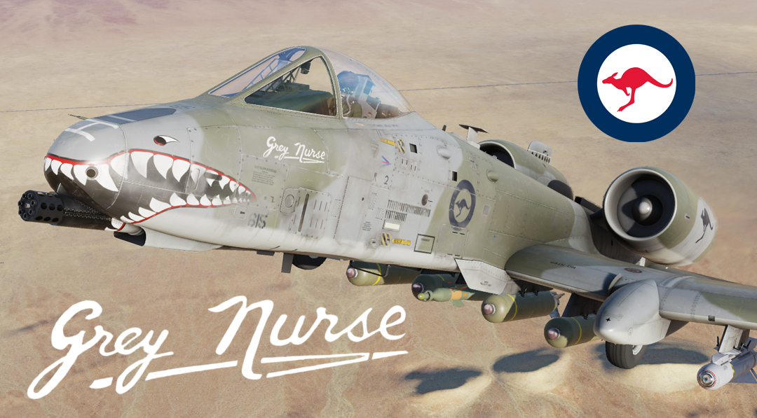 "RAAF A-10C II ""Grey Nurse"""