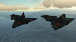 F10 Viggen skins - with practice numbers on top of wings (Updated)