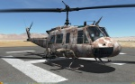 UH-1H Huey - No Markings - Octocamo Six Color Desert Camo (Fictional)