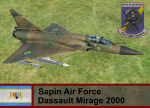 Sapin Air Force M-2000c- Ace Combat Zero (62 FS)